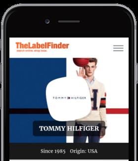 TheLabelFinder mobile